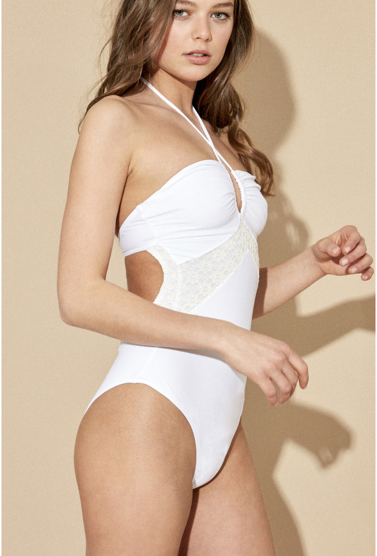 AMENAPIH, Swimsuit, White - Bellini