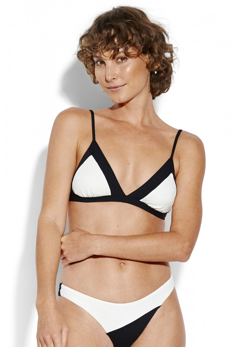 Haut de Bikini Triangle SEAFOLLY, Black - Popblock