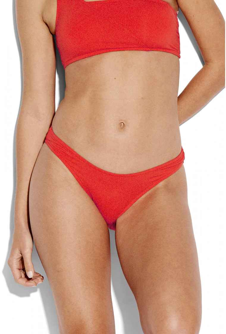 SEAFOLLY , High Cut Bikini bottom, Tangelo - Active