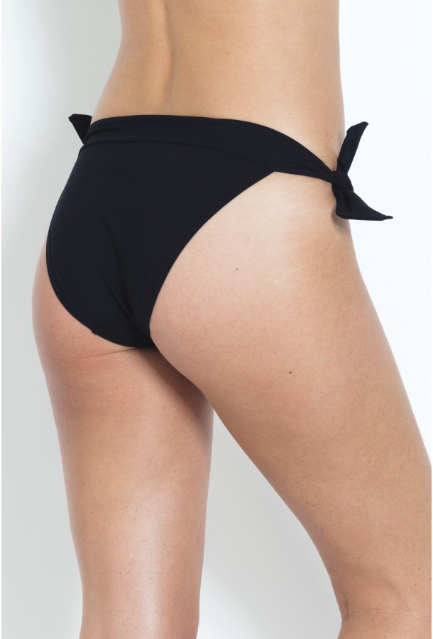 Bikini Bottom to adjust and tie Diva PAIN DE SUCRE Black - Uni Life