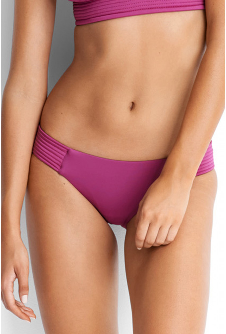SEAFOLLY, Bas de Bikini Hipster Rose - Quilted